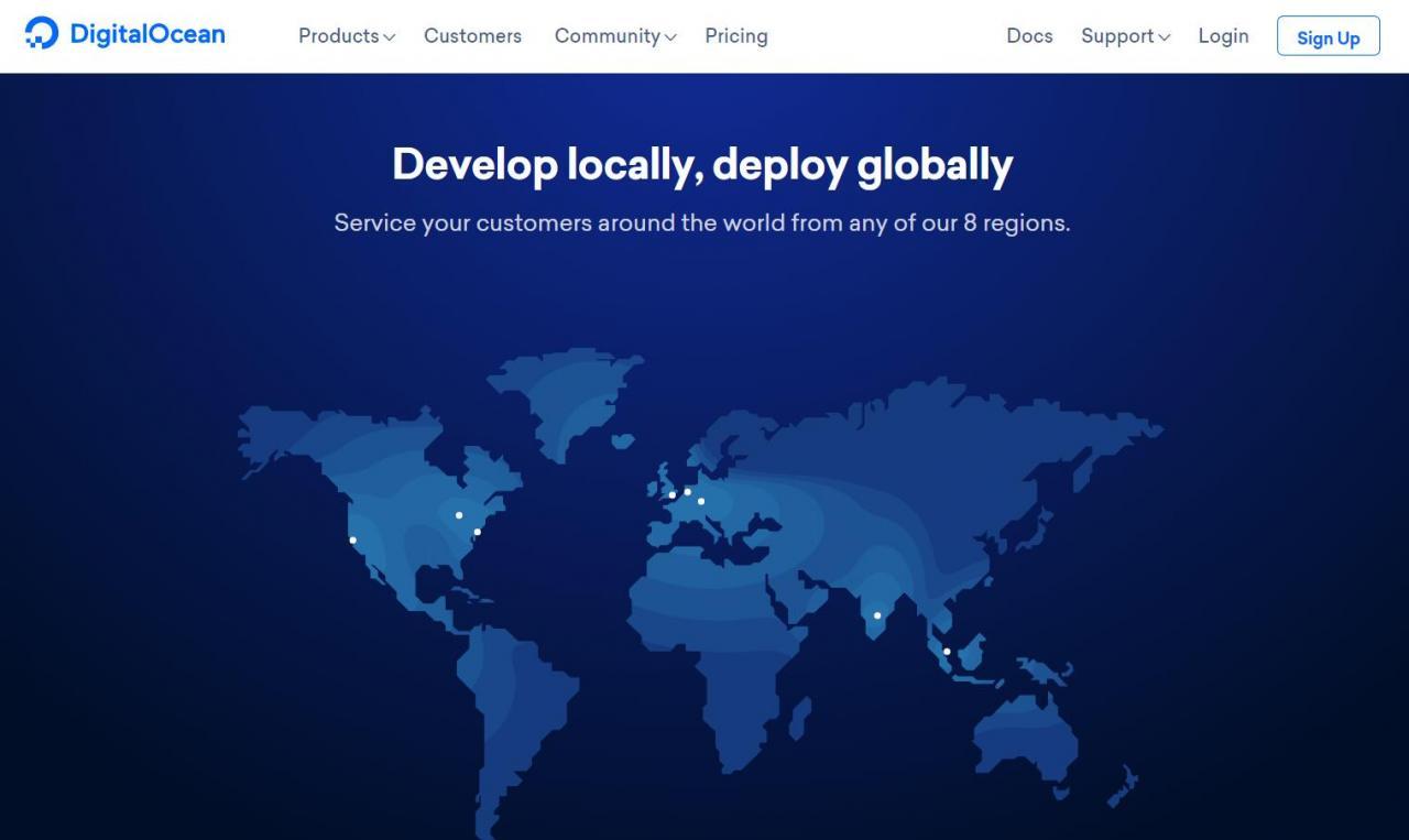 DigitalOcean - KVM架构 10+数据中心 老牌VPS商
