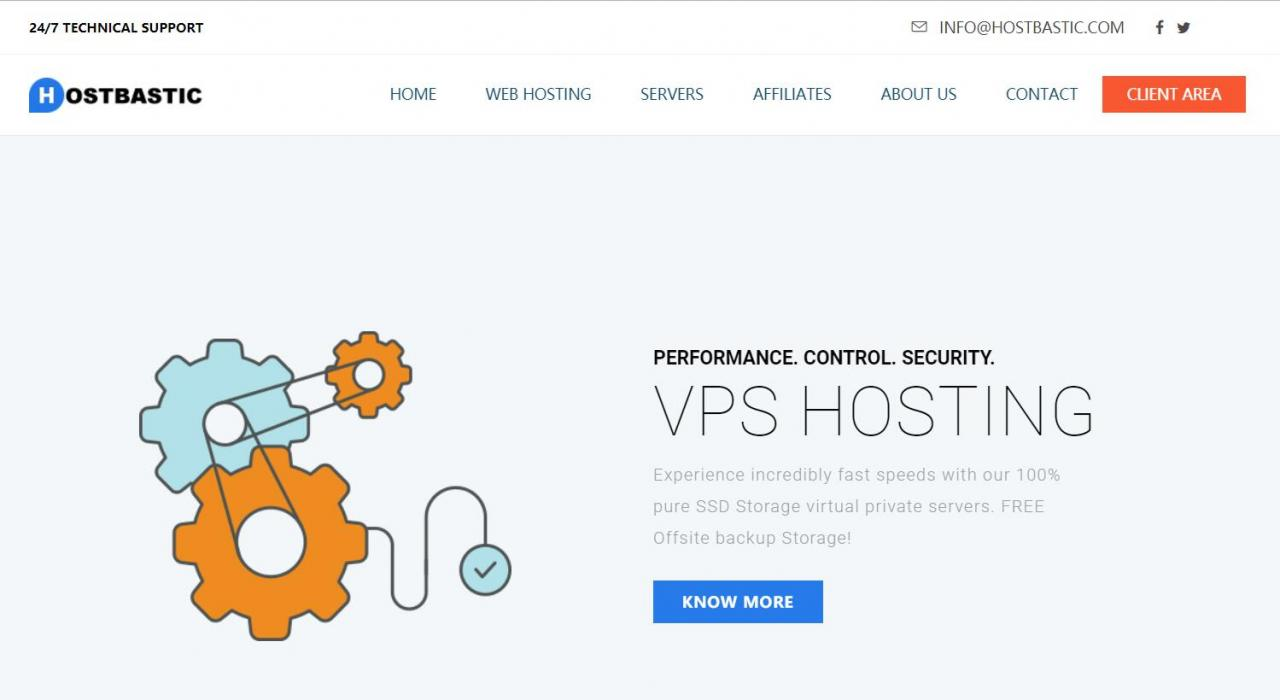 HostBastic – 5折优惠 KVM VPS 0.99英镑/月 DDoS防护