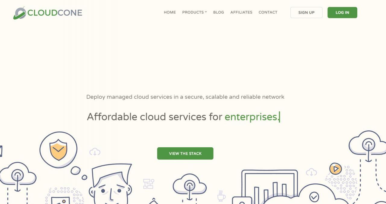 CloudCone - .99/mo KVM 1核 512M 20G 1T 1G 洛杉矶