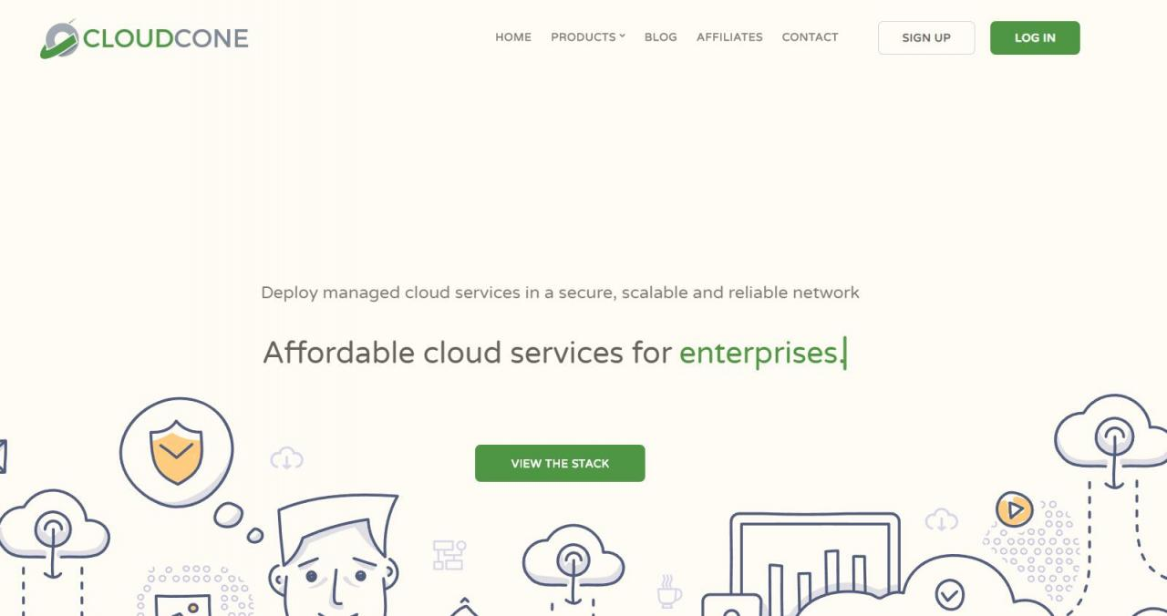 CloudCone – /mo KVM 1核 512M 15G 1T 1Gbps 洛杉矶MC