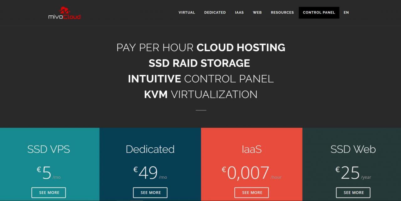 MivoCloud - €5/月 2GB/40GB/不限流量 KVM 俄勒冈