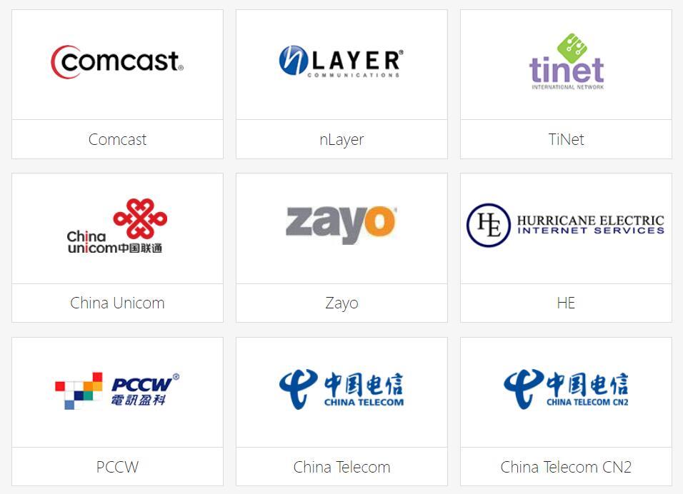 关于大陆网络 CN2 GIA 以及海外宽带服务商