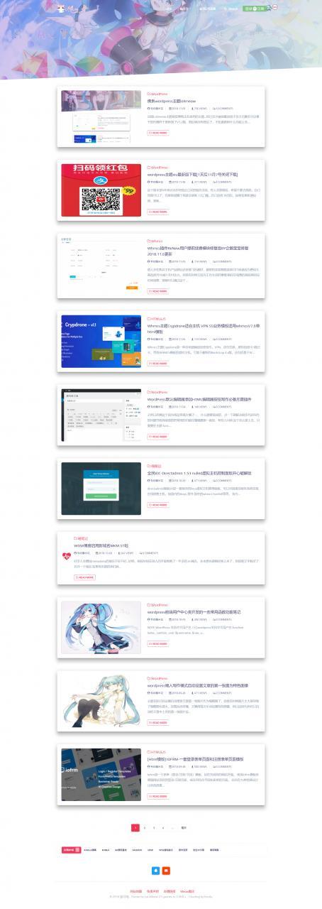 lolimeow – WP主题 开源 单栏 会员中心