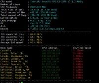Linux VPS 系统测试脚本 Bench Zbench