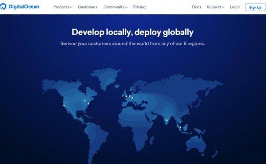 DigitalOcean – KVM架构 10+数据中心 老牌VPS商
