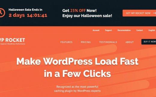 WP Rocket 破解版 – WordPress缓存插件   官方正版限时优惠