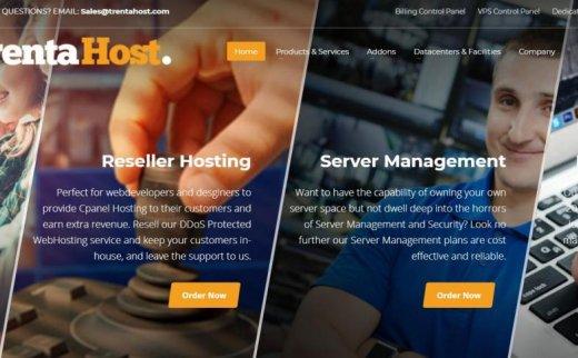 TrentaHost – 黑五 五折促销 不限流量 免费DDoS 波特兰 新加坡