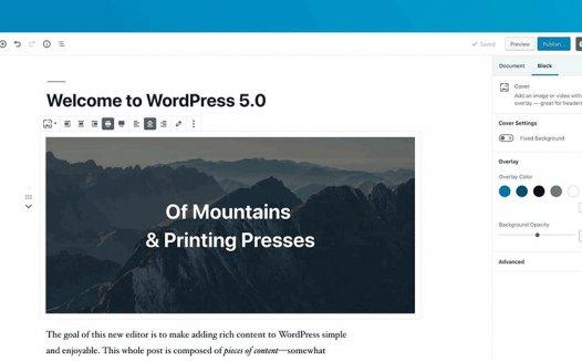WordPress5.0禁用新有Gutenberg编辑器
