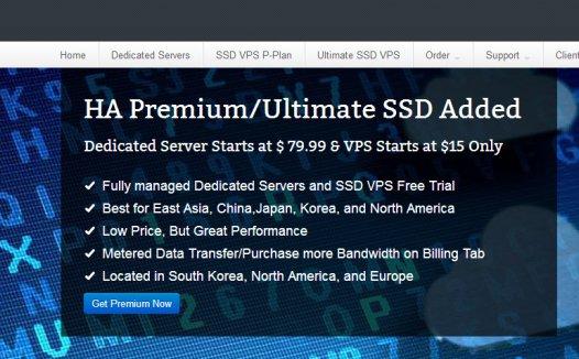 netdedi:$15/月/1GB内存/10GB SSD空间/500GB流量/KVM/韩国