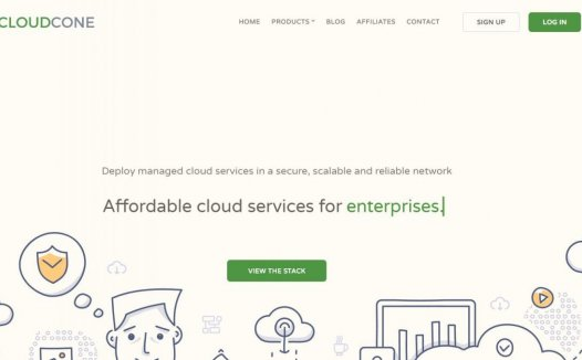 CloudCone – 15$/年 256M $1.99/月 KVM 1核 512M 20G 1T 1G 洛杉矶