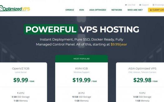 OptimizedVPS – 特价促销 洛杉矶QN   OVZ 三年$15  KVM 三年$30