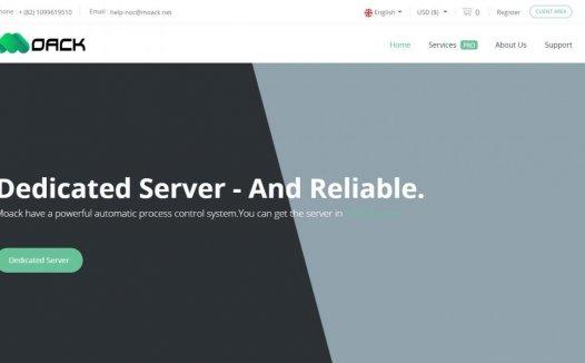 Moack – 韩国首尔 独立服服务器 首发促销 $12/月起