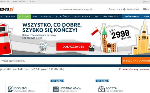 nazwa – 波兰VPS 2.6刀/月 不限流量 超大带宽