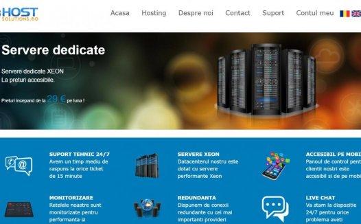 Hostsolutions – 黑五 罗马尼亚 不限版权 大流量 大硬盘