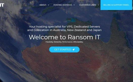 Ransom IT –  日本 香港 新加坡KVM $10/月 2C/1G/20G/1T流量